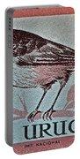 Uruguay Bird Stamp - Circa 1962 Portable Battery Charger