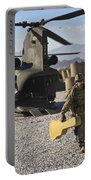 U.s. Army Sergeant Helps Unload Band Portable Battery Charger