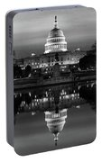 U.s. Capitol Building & Reflecting Portable Battery Charger