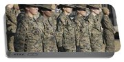 U.s. Marine Corps Female Drill Portable Battery Charger