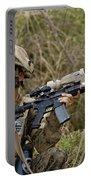 U.s. Marine Corps Machine Gunner Portable Battery Charger