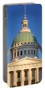 Us, Missouri, St. Louis, Courthouse Portable Battery Charger