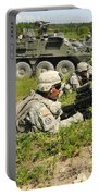 U.s. Soldiers Move Into Firing Portable Battery Charger