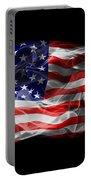 Usa Flag Smoke  Portable Battery Charger