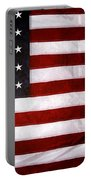USA Portable Battery Charger by Les Cunliffe