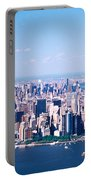 Usa, New York, Lower Manhattan, Aerial Portable Battery Charger