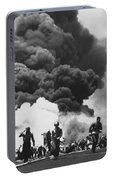 Uss Bunker Hill Kamikaze Attack  Portable Battery Charger