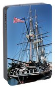 Uss Constitution Portable Battery Charger