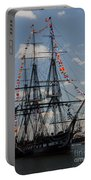Uss Constitution Portable Battery Charger by Mike Ste Marie