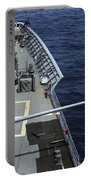 Uss Philippine Sea Fires Its Mk 45 Portable Battery Charger by Stocktrek Images