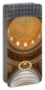 Utah State Capitol Rotunda Interior Archways Portable Battery Charger by Gary Whitton