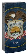 Utah State Flag Vintage Version Portable Battery Charger