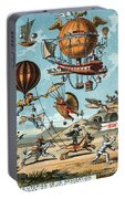 Utopian Flying Machines 19th Century Portable Battery Charger