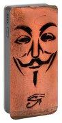 V For Vendetta Portable Battery Charger
