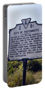 Va-q8i City Of Portsmouth Portable Battery Charger