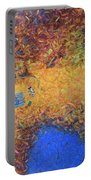 Vacationing On A Painting Portable Battery Charger