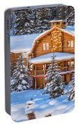 Vail Chalet Portable Battery Charger