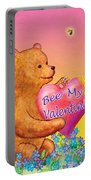 Valentine Baby Bear Portable Battery Charger