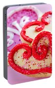 Valentines Hearts Portable Battery Charger