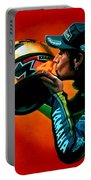 Valentino Rossi Portrait Portable Battery Charger