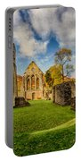 Valle Crucis Abbey Ruins Portable Battery Charger