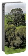 Valley At Hobbiton Nz Portable Battery Charger