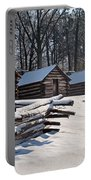 Valley Forge Cabins After A Snow Portable Battery Charger
