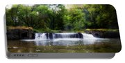 Valley Forge Pa - Valley Creek Waterfall  Portable Battery Charger