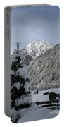 Valley In The Snow Portable Battery Charger