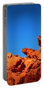 Valley Of Fire Nevada Desert Rock Lizards Portable Battery Charger