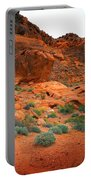 Valley Of Fire Red Sandstone Cliffs Portable Battery Charger