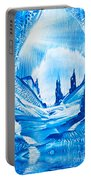 Valley Of The Castles Painting Portable Battery Charger
