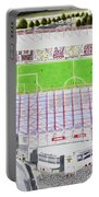 Valley Parade Stadia Art - Bradford City Fc Portable Battery Charger