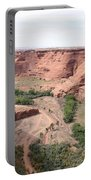 Canyon De Chelly Valley View   Portable Battery Charger