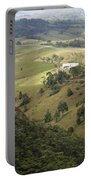 Valley View Of  Atherton Tableland Portable Battery Charger