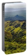 Valleys And Mountains Portable Battery Charger
