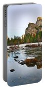 Vally View Panorama - Yosemite Valley. Portable Battery Charger