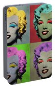 Vampire Marilyn Set Of 4 Portable Battery Charger