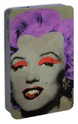 Vampire Marilyn Variant 3 Portable Battery Charger