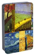 Van Gogh Collage Portable Battery Charger