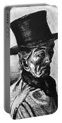 Man With Top Hat Portable Battery Charger