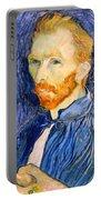 Van Gogh On Van Gogh Portable Battery Charger