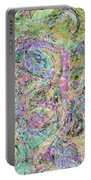 Van Gogh Style Abstract I Portable Battery Charger