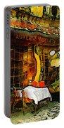 Van Gogh Style Restaurant Portable Battery Charger