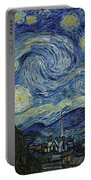 Van Gogh The Starry Night Portable Battery Charger