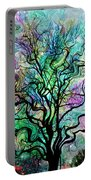 Van Gogh's Aurora Borealis Portable Battery Charger by Barbara Chichester