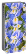 Van Gogh's Iris Portable Battery Charger