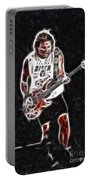 Van Halen-93-mike-gc23-fractal Portable Battery Charger