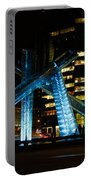Vancouver - 2010 Olympic Cauldron Lit At Night Portable Battery Charger