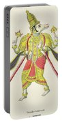 Varaha, Engraved By De Marlet Portable Battery Charger by French School